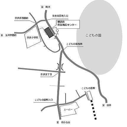 奈良地区センター地図